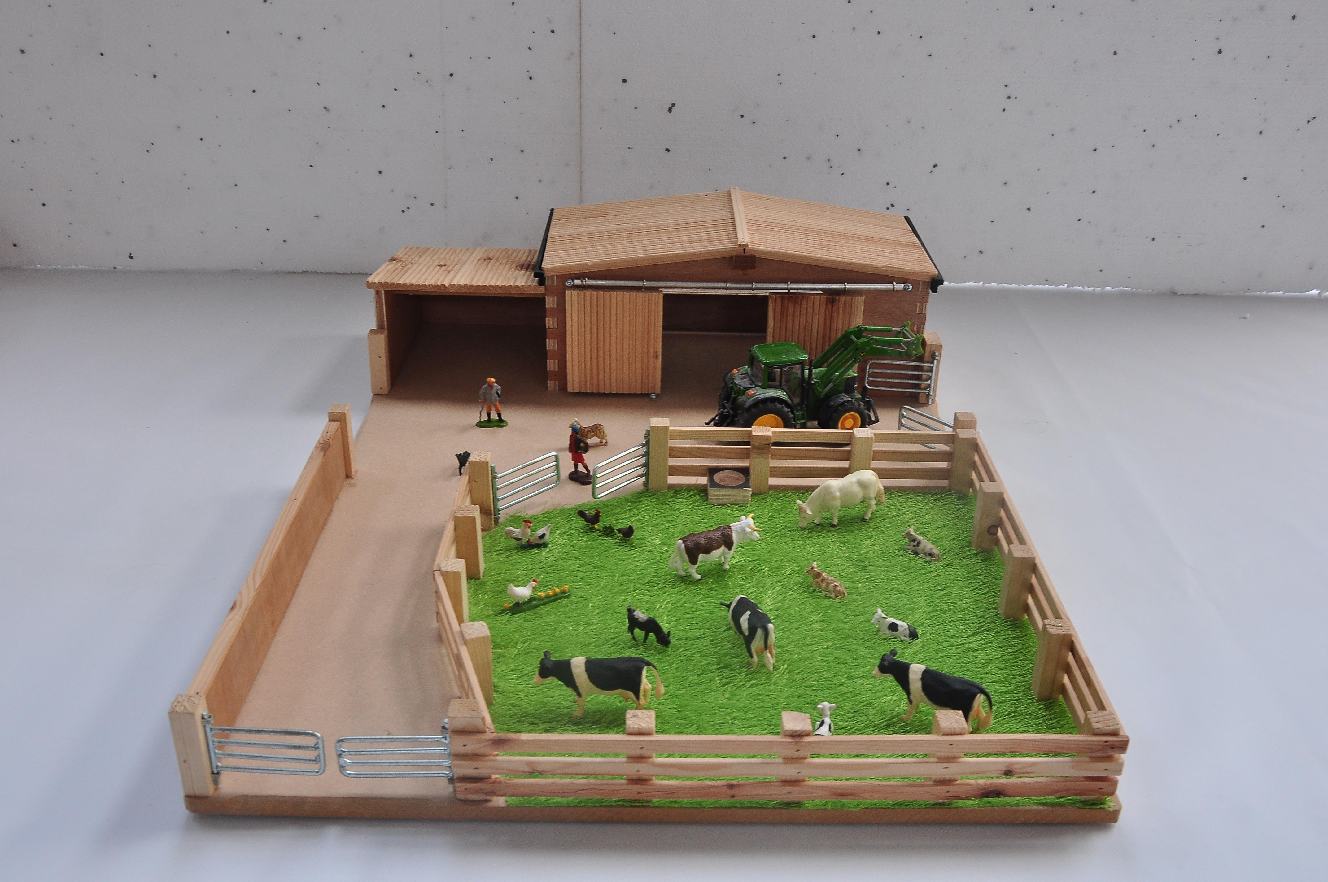 Small Model Farm Yard
