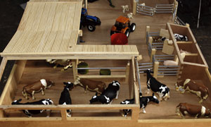Big Model Cattle Yard | Wooden Handcrafted Farm Sets, Nortern ...