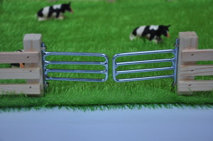 Magnetic Toy Field With Grass