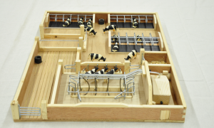Small Toy Milking Parlour