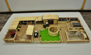 Complete Model Farm Yard